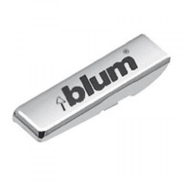 Заглушка на петлю, с надписью (blum), правая