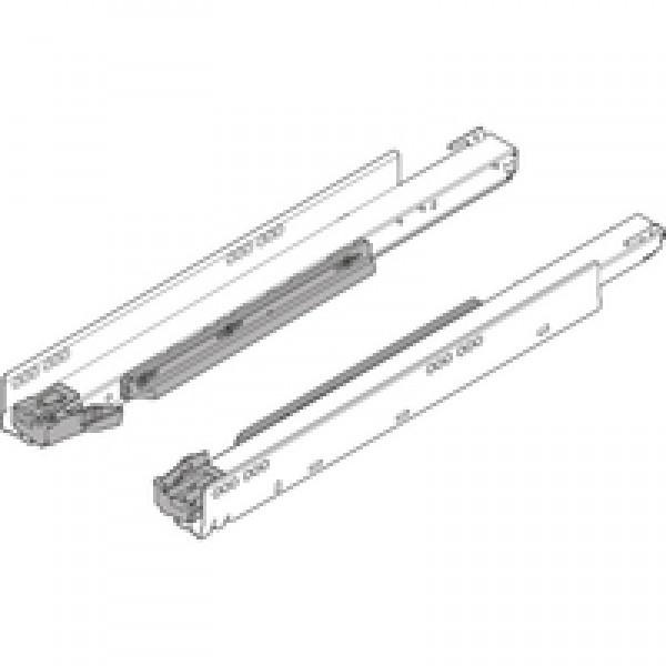 LEGRABOX направляющая с BLUMOTION, полное выдвижение, 40 кг, НД=450 мм, левая/правая