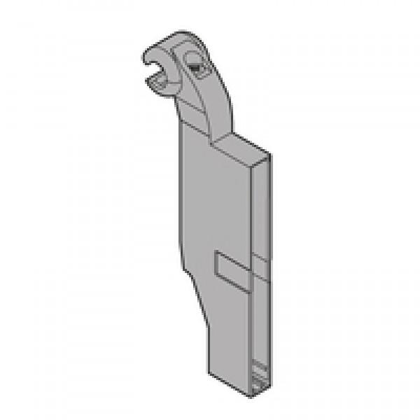 ORGA-LINE держатель поперечного разделителя для продольного релинга, для TANDEMBOX plus ящик с высоким фасадом