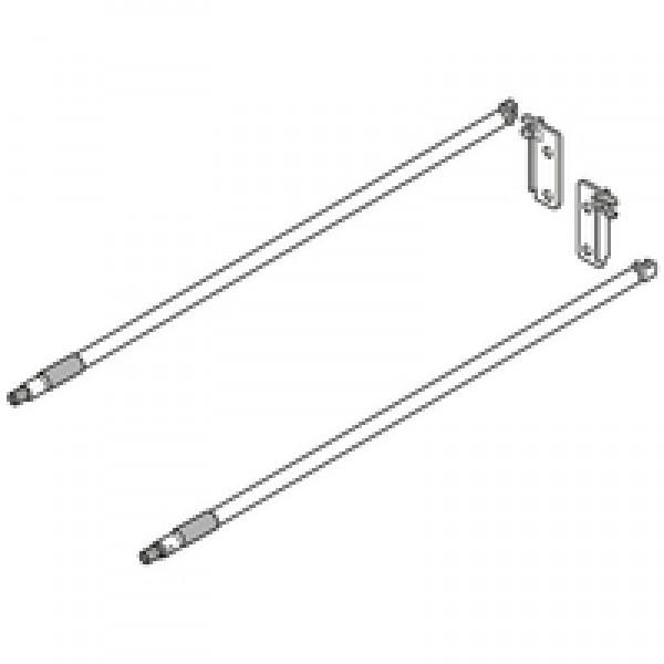 MOVENTO/TANDEM продольный релинг, НД=450 мм