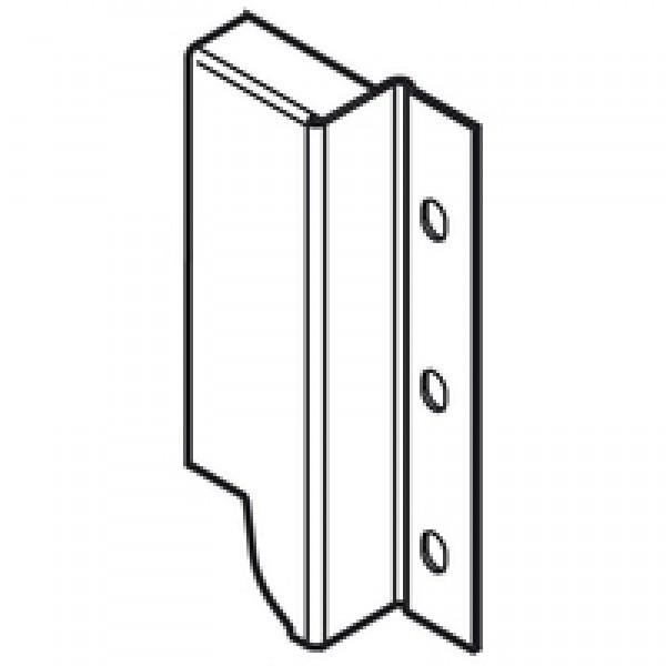 TANDEMBOX держатель задней стенки из ДСП, высота K (128,5 мм), левый
