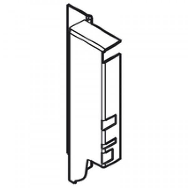 TANDEMBOX держатель задней стенки из ДСП, высота K (128,5 мм), правый