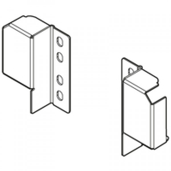TANDEMBOX plus/antaro держатель релинга (сзади) для регулируемого релинга, на саморезы