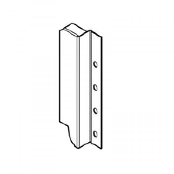 TANDEMBOX держатель задней стенки из ДСП, высота C (192 мм), левый