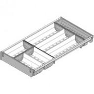 ORGA-LINE комплект лотков (частичное заполнение), TANDEMBOX стандартный ящик, НД=550 мм, ширина=280 мм