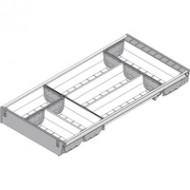 ORGA-LINE комплект лотков (частичное заполнение), TANDEMBOX стандартный ящик, НД=600 мм, ширина=280 мм
