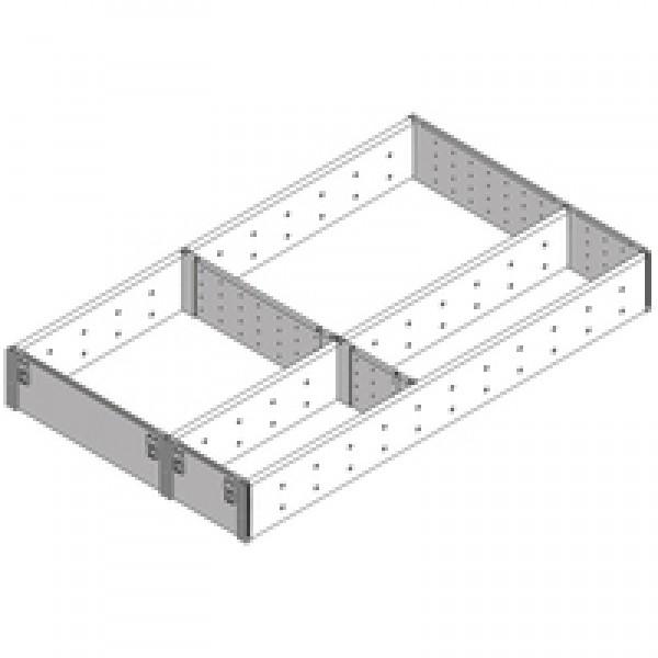 ORGA-LINE комплект разделителей (частичное заполнение), TANDEMBOX стандартный ящик, НД=500 мм, ширина=291 мм