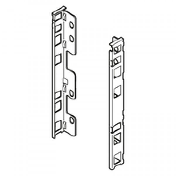 LEGRABOX крепление задней стенки, высота C, правое+левое, серый орион