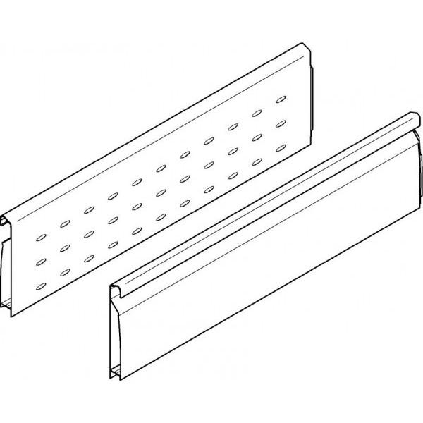 TANDEMBOX Боковая стенка BOXSIDE двойная перфорированная, НД=650мм, левая/правая
