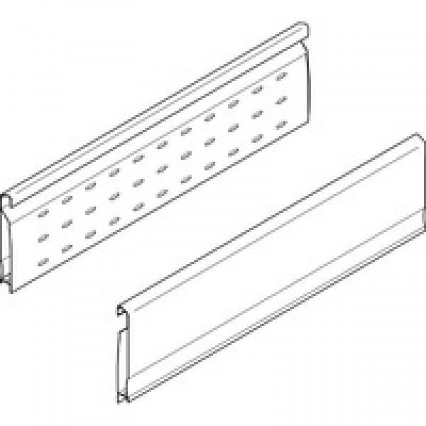 TANDEMBOX Боковая стенка BOXSIDE, двойная перфорированная, высота D, НД=400мм, левая/правая