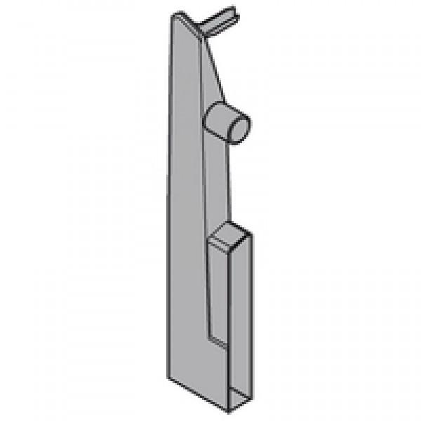 TANDEMBOX держатель фасада, высота D, для выс. внутр. ящ. с двойн. релингом, левый, TANDEMBOX plus