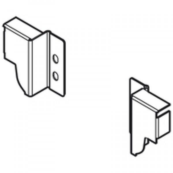 TANDEMBOX держатель задней стенки из ДСП, высота N (81,5 мм), левый/правый