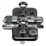 CLIP ответная планка, крест., 0 мм, сталь, EXPANDO, РВ: эксцентрик