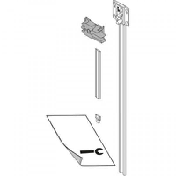 CABLOXX Блокирующая штанга, Комплект (Блокирующая штанга, дистанционная пластина, концевик, держатель, шаблон), ВВК=562 мм