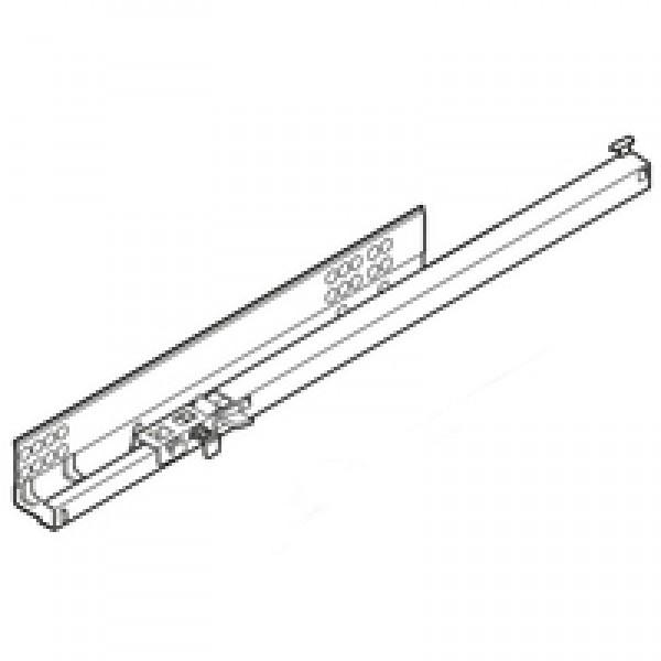 TANDEM BLUMOTION част. выдвиж., 30 кг, НД=460 мм, с фиксатором, левая