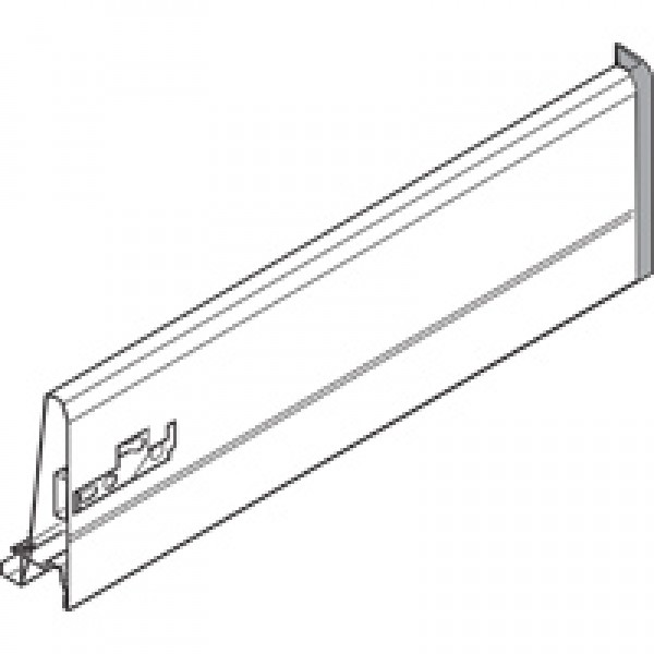 TANDEMBOX царга, высота K (115 мм), НД=500 мм, правая, TANDEMBOX plus