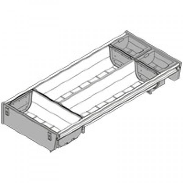 ORGA-LINE комплект лотков (частичное заполнение), TANDEMBOX стандартный ящик, НД=450 мм, ширина=192 мм