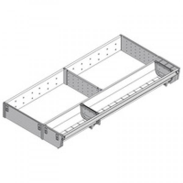 ORGA-LINE комбинированный набор (частичное заполнение), TANDEMBOX стандартный ящик, НД=600 мм, ширина=289 мм