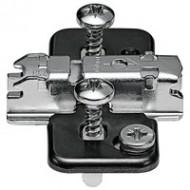 CLIP ответная планка, крест., 3 мм, сталь, EXPANDO, РВ: эксцентрик
