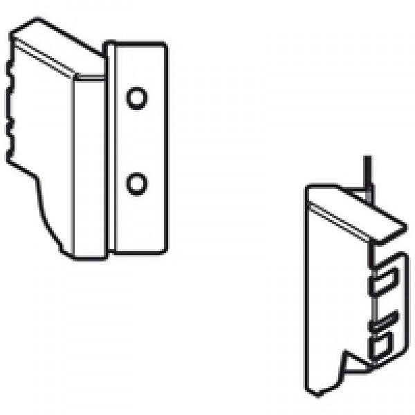 TANDEMBOX держатель задней стенки из ДСП, высота M (96,5 мм), SPACE CORNER, левый/правый
