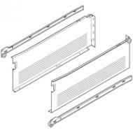 METABOX боковина из стали H (150 мм), част. выдвиж., 25 кг, НД=550 мм, под шурупы, левая/правая