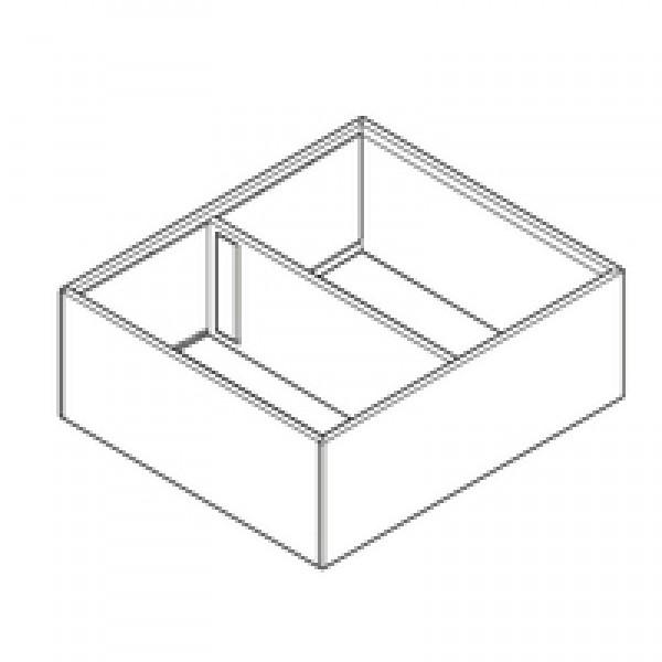 AMBIA-LINE рама для LEGRABOX ящик с высоким фасадом, сталь, от НД=270 мм, ширина=242 мм
