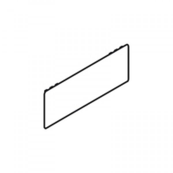 LEGRABOX заглушка, снаружи, прямоугольная, симметрич., с надписью (blum)