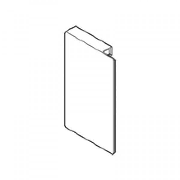 Заглушка для держателя фасада внутреннего ящика, высота М, прав., сталь