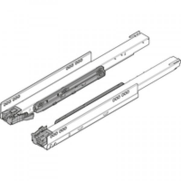 Направляющая к корпусу LEGRABOX для TIP-ON BLUMOTION, полное выдвижение, 70 кг, НД=600 мм, левая/правая