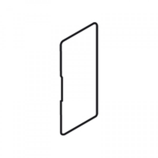 LEGRABOX заглушка, внутри, высота M/C/F/K, прямоугольная, симметрич., углубленная (blum)