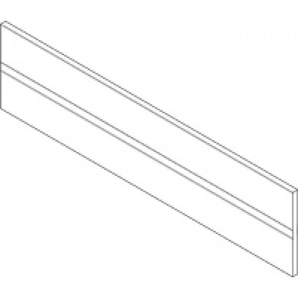 ORGA-LINE профиль поперечных разделителей, TANDEMBOX ящик с высоким фасадом, длинa=1077 мм, алюминий