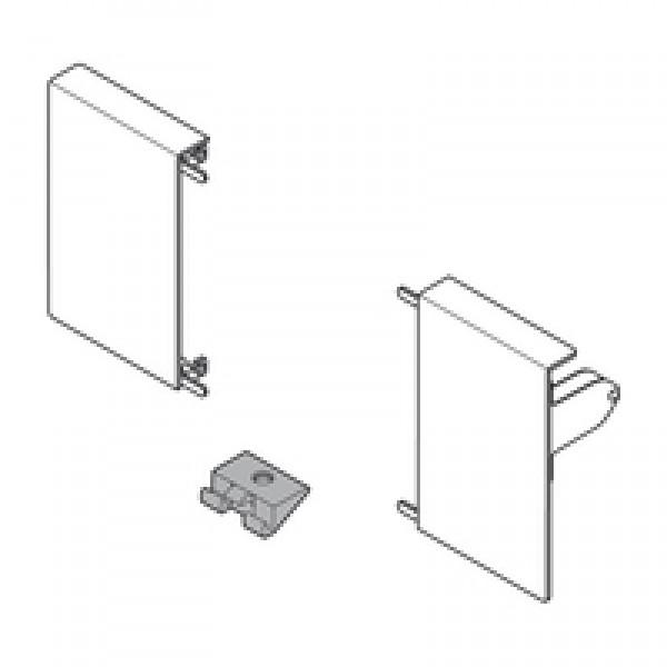 TANDEMBOX держатель фасада, высота M, для внутрeнниx ящикoв, левый/правый, TANDEMBOX intivo