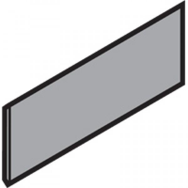 TANDEMBOX заглушка, прямоугольная, симетрическая, углубленная (blum)