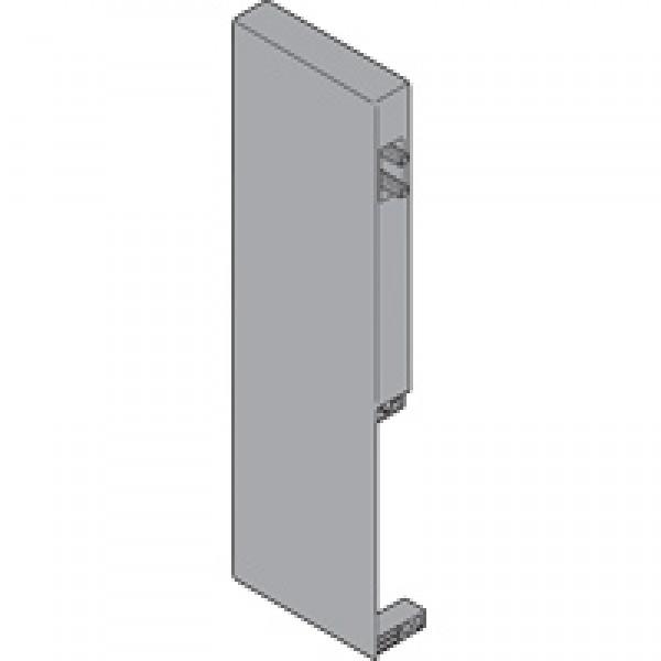 TANDEMBOX крепление передней панели, высота D, для внутреннего высокого ящика с одинарным релингом, левое, TANDEMBOX antaro