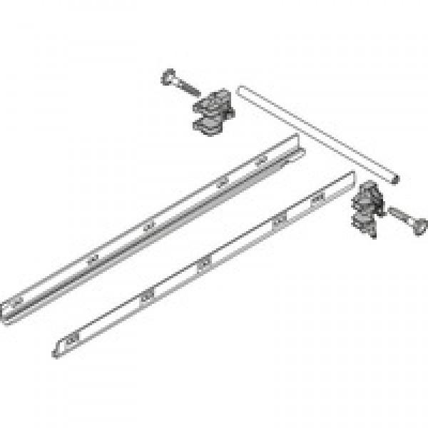TANDEMBOX боковой стабилизатор (для крепления сверху), НД=450 мм, ШК=1200 мм, полн. выдвиж., стандартный ящик / ящик с высоким фасадом