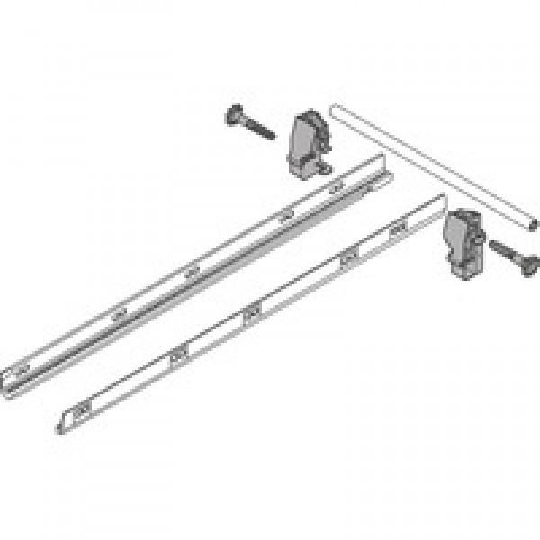 TANDEMBOX боковой стабилизатор (для крепления сверху), НД=500 мм, ШК=1200 мм, полн. выдвиж., стандартный ящик / ящик с высоким фасадом