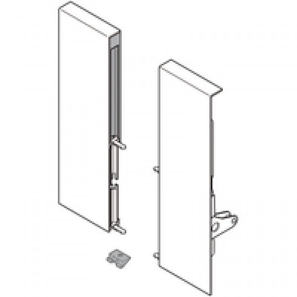 TANDEMBOX держатель фасада, высота D, для высокого внутреннего ящика со вставкой, левый/правый, TANDEMBOX intivo