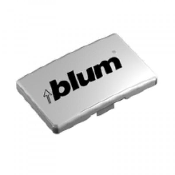 Заглушка на петлю, с надписью (blum)