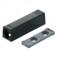 Держатель TIP-ON для дверей, прям. (20/17 мм)