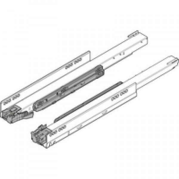 Направляющая к корпусу LEGRABOX для TIP-ON BLUMOTION, полное выдвижение, 70 кг, НД=650 мм, левая/правая